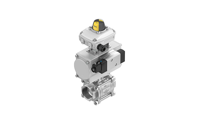 Unidades-de-válvula-de-esfera-KVZB-festo-pahc-automação