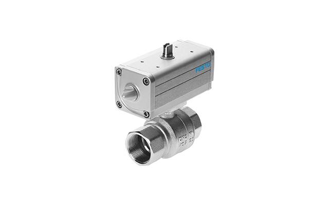 Válvula-de-esfera-com-atuador-pneumático-VZPR-festo-pahc-automação