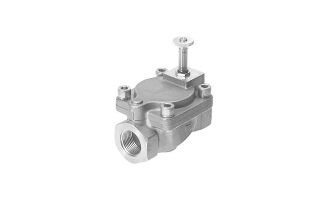 Válvula-solenoide-servo-operada-VZWM-festo-pahc-automação