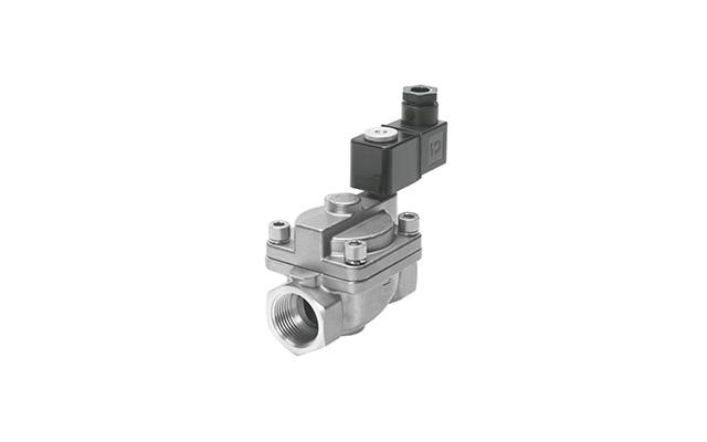 Válvula-solenoide-servo-operada-VZWP-festo-pahc-automação