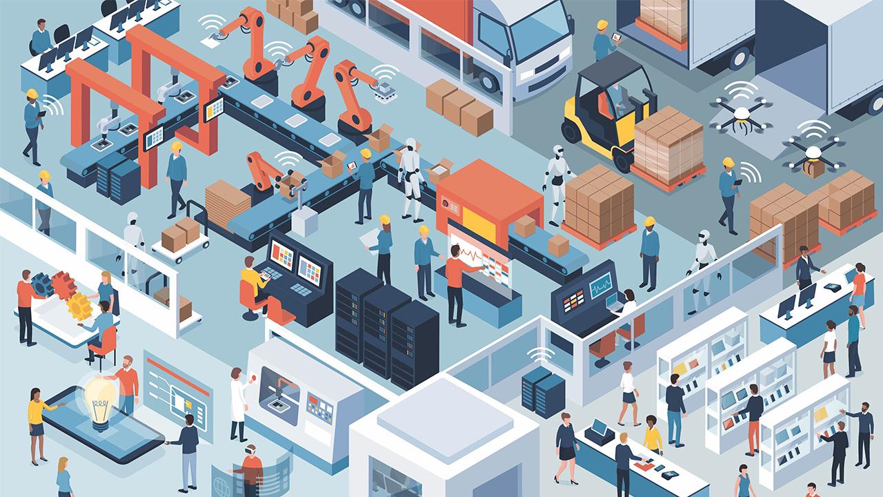 Tipos de sistemas de automação industrial