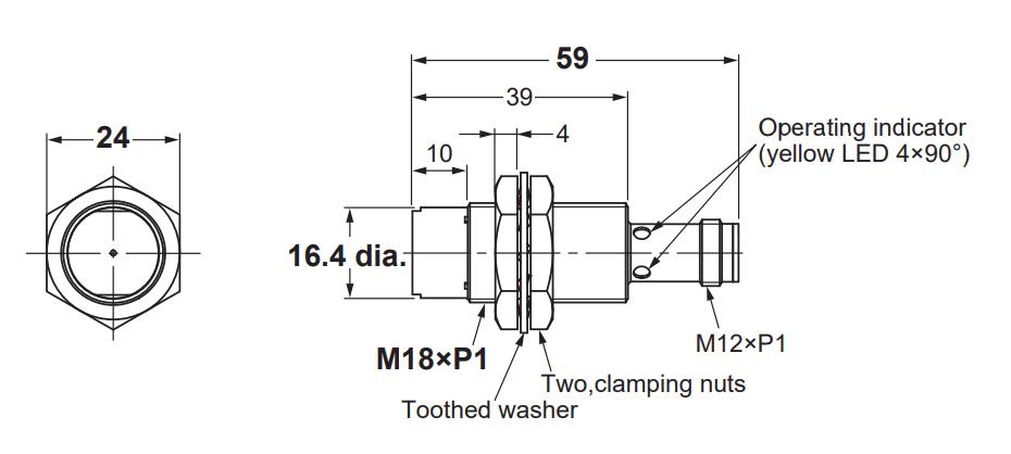 ft1-e2b-m18kn-omron-pahc-automação